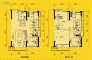 敏捷星悦国际5室2厅2卫97平方米户型图