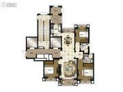 橡逸湾3室2厅2卫135平方米户型图