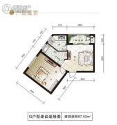 尚格・岭秀天下0室0厅0卫67平方米户型图