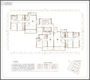 保利天汇121--199平方米户型图