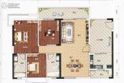 豪美・湖景湾3室2厅2卫100--200平方米户型图