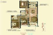 金通玫瑰园 高层3室2厅2卫0平方米户型图