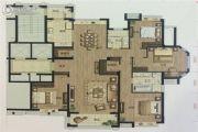 依云郡小区4室2厅2卫188平方米户型图