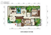 石梅半岛2室2厅2卫80平方米户型图