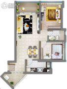 祈福缤纷汇2室2厅1卫76平方米户型图
