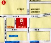 东兴江平商贸城交通图