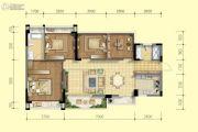 北京城建龙樾熙城4室2厅2卫114平方米户型图