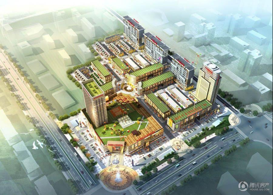 丰禾国际商业广场 效果图