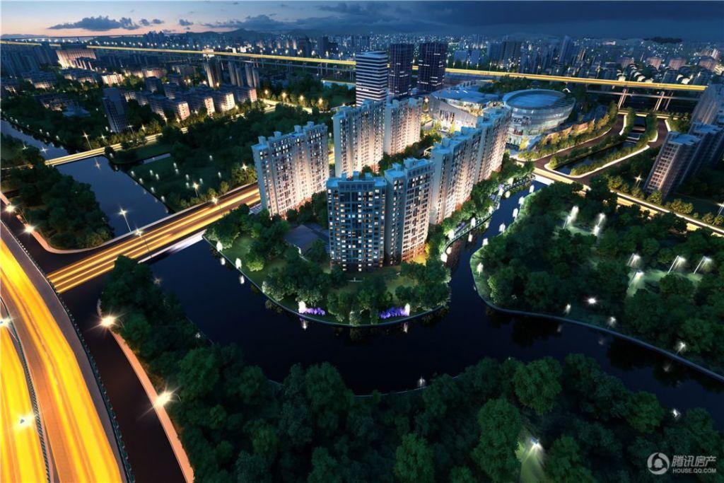 上海西环中心星信名邸 效果图