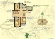 淳茂公园城3室2厅2卫126平方米户型图