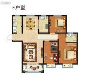 昆吾名家3室2厅2卫0平方米户型图