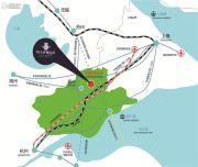 恒大香湖左岸交通图