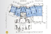 保利国际广场52--100平方米户型图