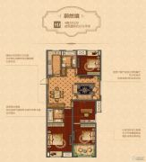 凯悦中心4室2厅2卫151平方米户型图