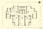 恒大名都3室2厅1卫107--109平方米户型图