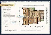 玫瑰湾4室2厅2卫125平方米户型图