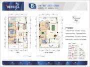 清凤・椰林湾3室2厅2卫76平方米户型图