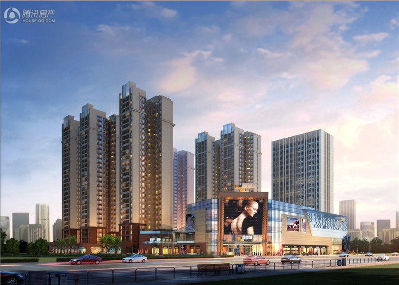 汇港城建面30-80㎡商铺在售 均价1.1万/㎡起