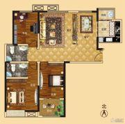 新龙御都国际3室2厅2卫139平方米户型图