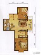 红海湾2室1厅1卫0平方米户型图