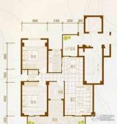 御景湾3室2厅1卫0平方米户型图