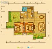 金鸿城三期归谷2室2厅1卫72平方米户型图