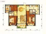 碧桂园半山龙庭3室2厅2卫114平方米户型图