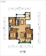 丁香花园玉泉苑3室2厅2卫150平方米户型图