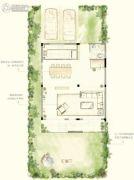 华地仟佰墅3室2厅3卫151平方米户型图