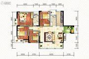 碧桂园海昌天澜4室2厅2卫118平方米户型图