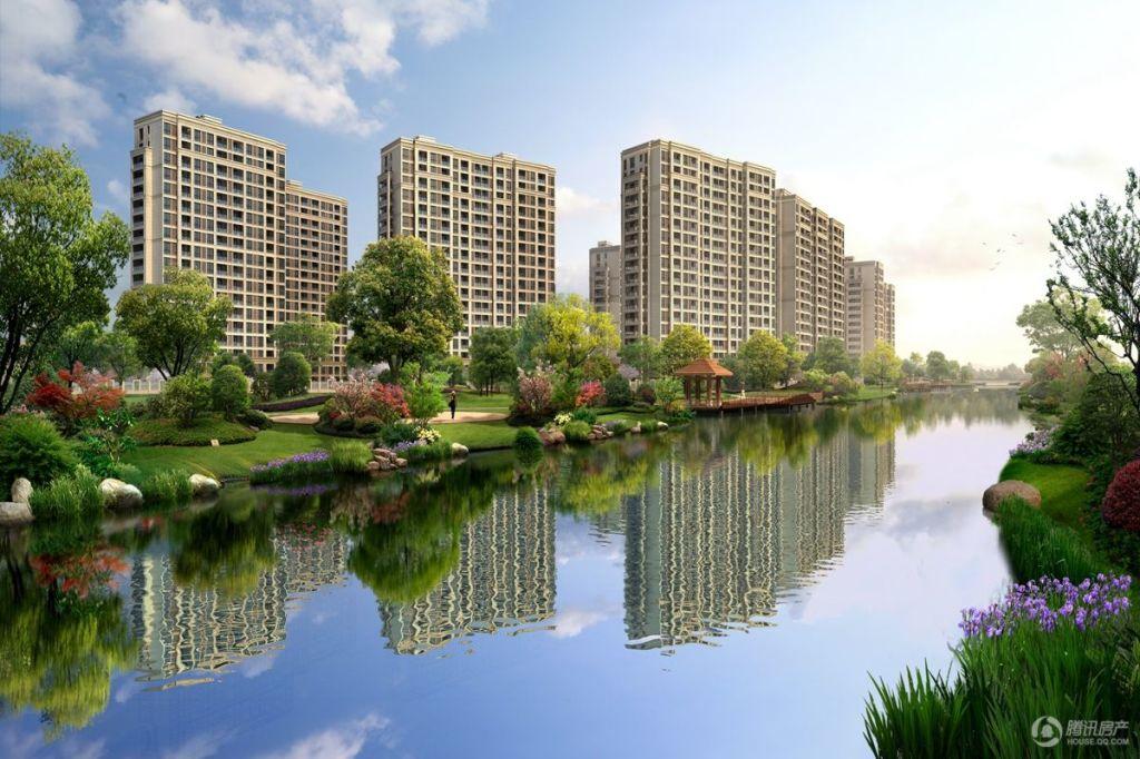 紫元尚郡-沿河透视