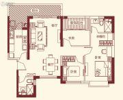 恒大帝景3室2厅2卫116平方米户型图