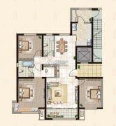 御融公馆3室2厅2卫0平方米户型图