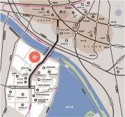 中昂安纳西小镇交通图