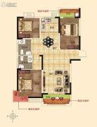 润合花园3室2厅2卫124平方米户型图