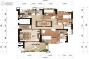万欣・新天地3室2厅3卫0平方米户型图