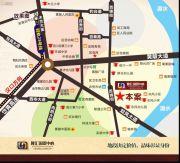 隆汇国贸中心交通图