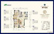 淮矿东方蓝海2室2厅2卫132--135平方米户型图