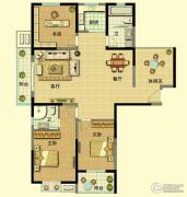 山泽园3室2厅2卫0平方米户型图