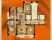 大诚名座4室2厅2卫137平方米户型图