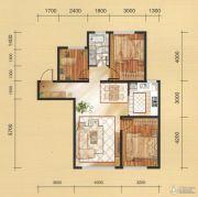 国茂清华园3室2厅1卫103平方米户型图