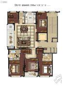 滨江保利・翡翠海岸5室2厅3卫198平方米户型图