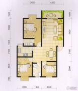 波兰尚龙城3室2厅2卫104平方米户型图