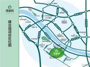 建业城交通图