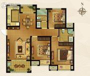 梅香雅舍3室2厅2卫125平方米户型图