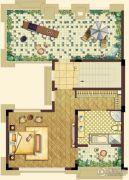 南昌万达城4室3厅5卫245平方米户型图