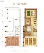 力帆红星国际广场338--374平方米户型图