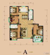 东岳国际4室2厅2卫143平方米户型图