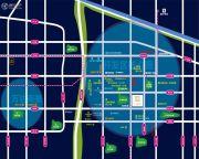 东方理想城交通图