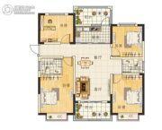 天章水岸国际・和园4室2厅2卫123平方米户型图